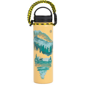 United By Blue Walk In The Woods Stainless Steel Bottle 650ml Tan